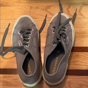 Superga Shoe Gray